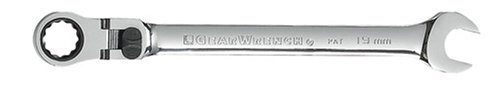 GEARWRENCH 9922 22mm Flex-Head Combination Ratcheting Wrench ()