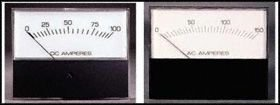 (Analog Panel Meter, Internal Illumination, Translucent Dial, DC Current, 0mA to 1mA, 19.3 mm )