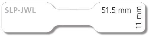 s Seiko Instruments SLP-JWL Color blanco 1050pieza - Etiqueta autoadhesiva , Caja Color blanco, 7//16 x 2 1//32, 51,5 mm, 11 mm, 1050 pieza s