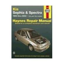Kia Sephia 1994 thru 2001 & Spectra 2000 thru 2004