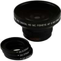 Bower VLB1637B High-Speed Super Fisheye Wide-Angle Lens w...