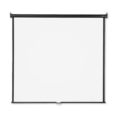 o Quartet o - Wall/Ceiling Projection Screen, 70''x70'', White Screen by Quartet