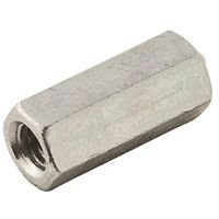 Coupler 1 2 20 Zinc Fine Thrd Fully Threaded Rods And