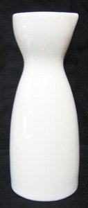 JapanBargain S2723, White Porcelain Sake Carafe Bottle, 4-oz