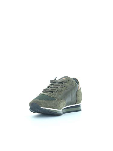 Camoscio In Sneaker Tropez E Pelle Verde w8yNnOPm0v