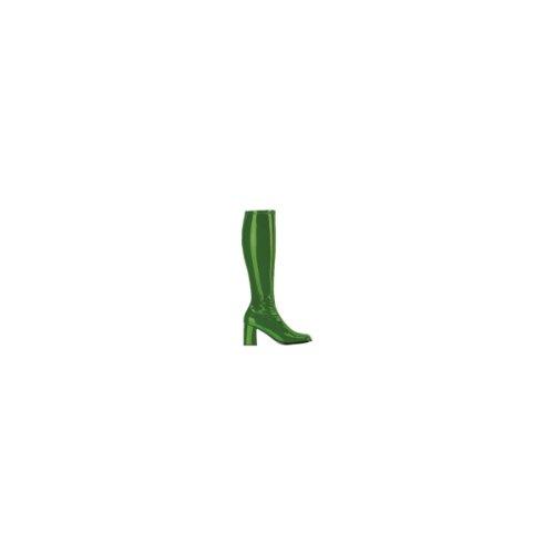 Ellie Skor Kvinnor Gogo 3 Häl Dragkedja Grön Boot 5 B (m) Oss
