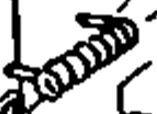 John Deere Original Equipment Torsion Spring #M83410