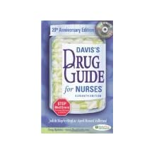 Davis's Drug Guide for Nurses, Eleventh Edition [11/E] (W/CD-Rom)- By Judith Hopfer Deglin & April Hazard Vallerand