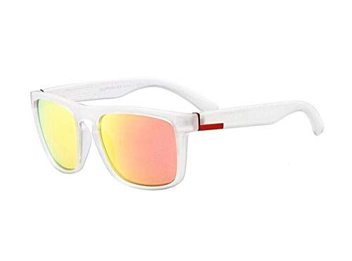 protectrices voyager de soleil soleil de lunettes mode femmes conduite la de de en les plein des Cool White hommes UV400 air Lunettes Huyizhi vélo wfqIAI