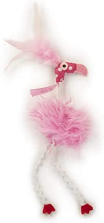 SmartyKat Flamingo Flop Feathered Catnip and Silvervine Cat Toy 4