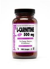 Bluebonnet Nutrition L-Carnitine 500 Mg