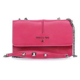Patrizia Pepe Pepe Leather Sac à bandoulière pink