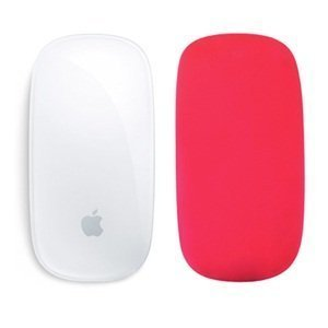 Cosmos ® Silicone soft skin protector cover for MAC Apple Magic Mouse (Red)