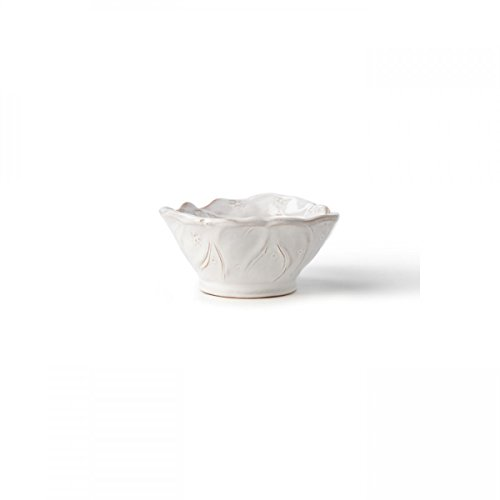 Vietri Bellezza Holiday Santa Condiment Bowl