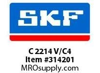 SKF-Bearing C 2214 V/C4 by SKF Bearing