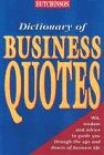 Paperback Business Quotes (Helicon Language) Book