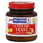 Red Star Active Dry Yeast Baking Powder 4 oz (Pack of 12) by Red Star