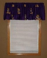 picture of NCAA Louisiana State Tigers Collegiate Window Valance