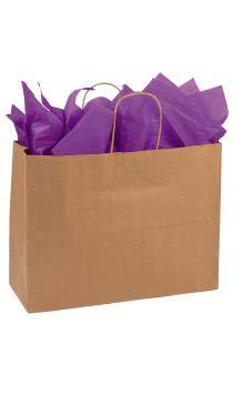 Amazon.com: SSWBasics Bolsas de la compra de papel kraft ...