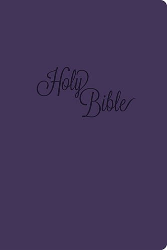 Download KJV, End-of-Verse Reference Bible, Personal Size, Giant Print, Imitation Leather, Purple, Red Letter Edition pdf