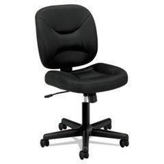Basyx VL210MM10 VL210 Series Mesh Low-Back Task Chair, Black by Basyx