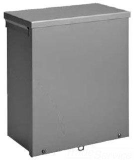 Nema 3r Junction Box - Hoffman A24R246 NEMA 3R Enclosure, Screw Cover, Galvanized, Paint Finish, 24