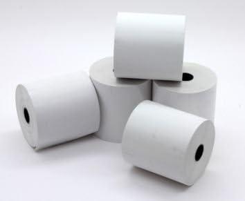 Rollos de papel térmico para caja registradora, 57 x 57 mm, 20 ...