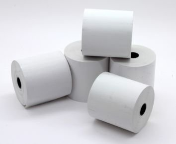 Thermal Till Rolls SPECIAL OFFER 40 ROLLS 57 x 50mm JUST EAT MACHINE