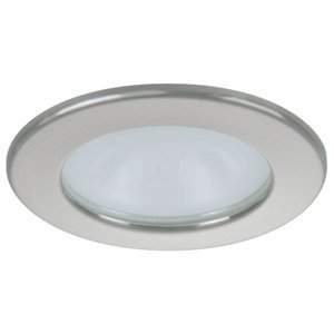 Quick Kai XP Downlight LED - 6W, IP66, Screw Mounted (Round Satin Bezel, Round Daylight Light) by Quick USA