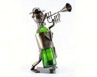 ThreeStar THREEZB120 Trumpet Player Wine Bottle -
