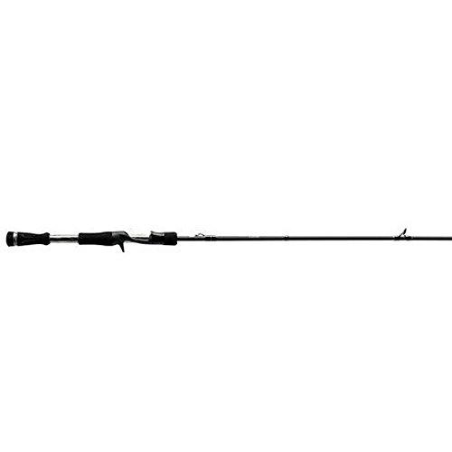 13 Fishing One 3 Fate Chrome M Casting Rod, 7.3', Chrome