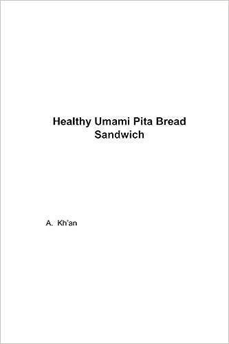 Healthy Umami Pita Bread Sandwich Kh An A 9781984924445 Amazon Com Books