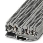 DIN Rail Terminal Blocks ST 4-QUATTRO-DIO 1N 5408/R-L (50 pieces) by