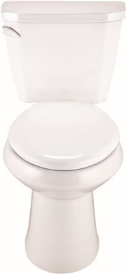 Gerber Viper Complete Toilet-in-A-Box with Elongated Bowl, 1.28 Gpf, White