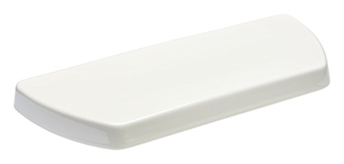 KOHLER K-84591-96 Well Worth Toilet Tank Cover, Biscuit (Kohler K 84999 Universal Toilet Seat Anchor Kit)