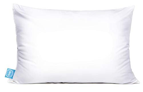- Queen Size Luxury Pillow, Patent-Pending Dual-Sided Design, for Back and Side Sleepers, Synthetic Fill (20