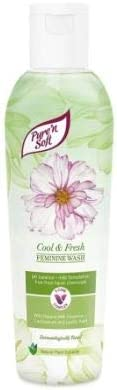 PURE & SOFT Pure' n Soft Fresh & Cool Feminine Wash 200ml -Feminine cleansers are The Perfect Thing to Reach for to Cleanse Your Intimate Areas