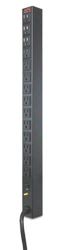 APC AP9551 Power distribution strip ( rack-mountable ) - AC 120 V - 14 output connector(s) - for P/N: SU2200R3X152-TU, SU5000R5T-TF3, SU5000R5T-TF3-TU, SU5000R5XLT-TF3, SU5000R5XLT-TF3-TU