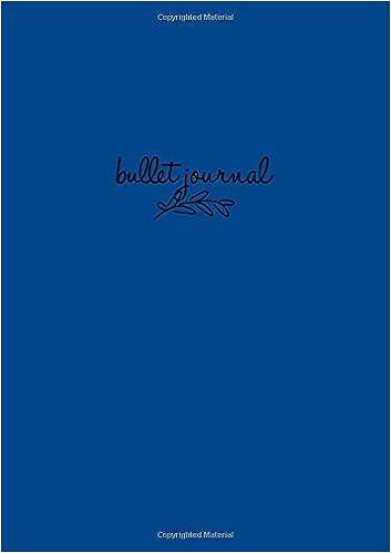 Bullet Journal: Königsblau Notizbuch A5 Dotted: Bullet ...