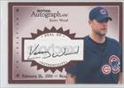 Kerry Wood #46/99 (Baseball Card) 2004 Skybox Autographics Autographs On Location #AOL-KW