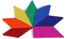 Tissue Paper Cracker Hats - Assorted Colors - Pkg of 24 ()