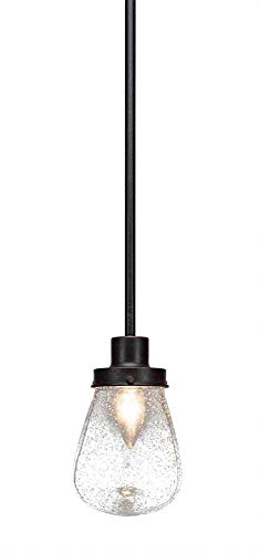 Toltec Lighting Meridian 1 Light Mini Pendant with 5
