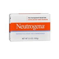 Neutrogena Transparent Facial Bars, Acne-Prone Skin Formula, 3.5 Ounce