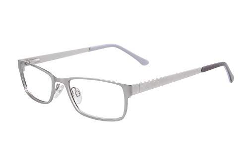 Edison & King Elements reading glasses, metal, choice of six colors, with premium lenses (+2.00 dpt, -