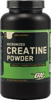 Optimum Nutrition Micronized Creatine Powder Unflavored 300 g (10.5 oz)