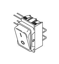 Power Switch for Gendex for Model 765 DC GXS017
