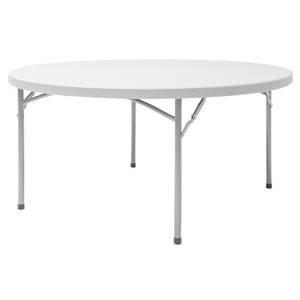 Round Plastic Table, 60''