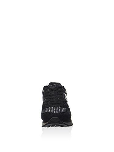 Lotto Tokyo Wedge W - Zapatillas Mujer Negro / Gris