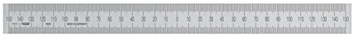 Steel Rule 3000x30x1,0 mm, stainless spring steel, Zero-point in the middle, top and bottom 1/1 mm graduation, acc. to workshop grade by Vogel Germany