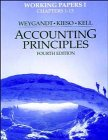 Accounting Principles, Working Papers Volume 1